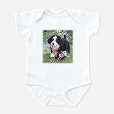 Soccer Berner Puppy Infant Bodysuit