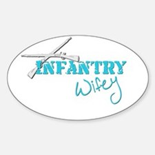 Infantry Wifey Decal