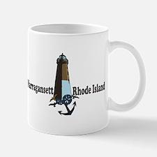 Narragansett RI - Lighthouse Design Mug