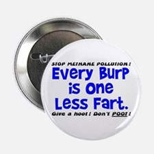 """EVERY BURP IS 1 LESS FART 2.25"""" Button"""