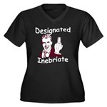 Designated Inebriate PG Women's Plus Size V-Neck D