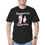 Designated Inebriate PG Men's Fitted T-Shirt (dark