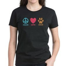 Peace Love Dogs Tee
