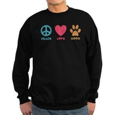 Peace Love Dogs Sweatshirt