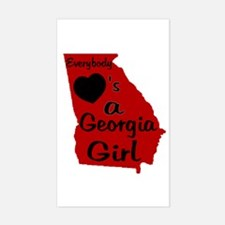 Everybody Loves a GA Girl (RB Decal