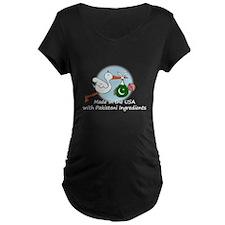 Stork Baby Pakistan USA T-Shirt