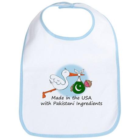 Stork Baby Pakistan USA Bib