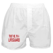 Funny Rescue swimmer Boxer Shorts