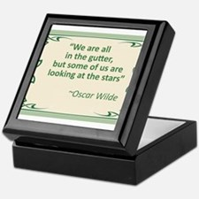 Wilde on Gutters and Stars Keepsake Box