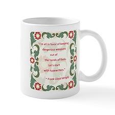 Frank Lloyd Wright on Writing Mug