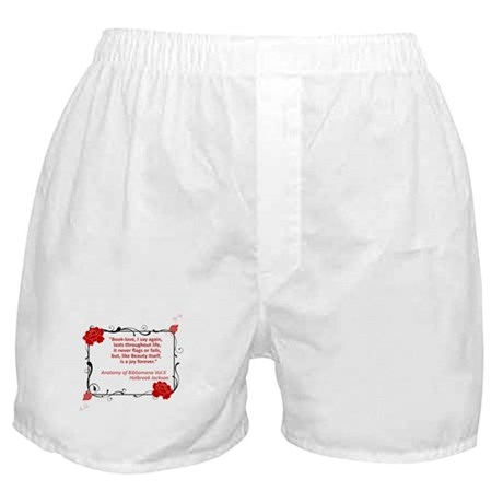 Bibliomania Boxer Shorts