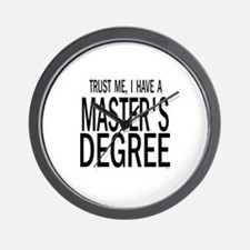 Cool Doctorate Wall Clock
