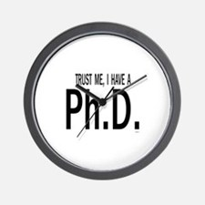 Cute Masters of education graduation Wall Clock