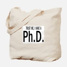 Doctoral student Tote Bag