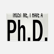 Unique Doctoral graduation Rectangle Magnet (100 pack)