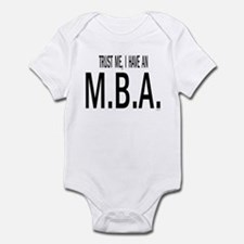 Trust me, I have an M.B.A Body Suit