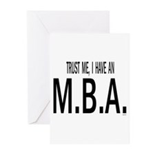 Cute Business office manager Greeting Cards (Pk of 20)