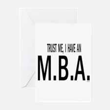 Cute Business consultants Greeting Cards (Pk of 20)