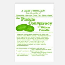 Pickle Conspiracy Postcards (Package of 8)