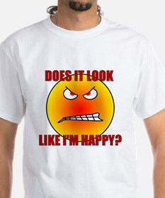 Angry Smiley Face Shirt
