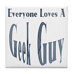Love a Geek Tile Coaster