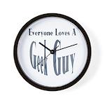 Love a Geek Wall Clock