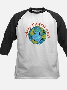 Happy Earth Day Kids Baseball Jersey