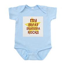 MY GREAT GRANDPA ROCKS Infant Creeper
