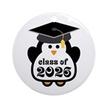 Penguin Class of 2026 Ornament (Round)
