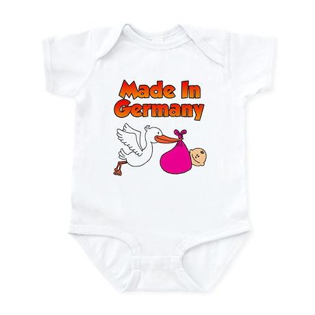 Made In Germany (Girl) Infant Bodysuit