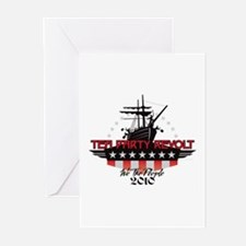 Tea Party Revolt 2010 Greeting Cards (Pk of 10)