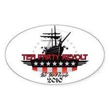 Tea Party Revolt 2010 Decal