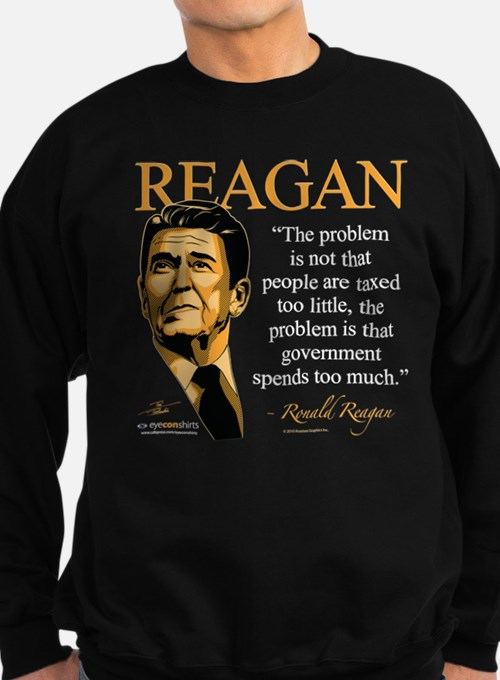 Ronald Reagan 2 Sweatshirt (dark)