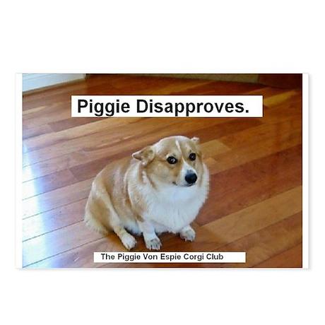 The Piggie Von Espie Postcard of Disapproval