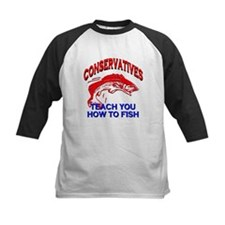 Conservatives Teach You To Fish Tee