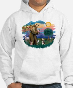 St Francis #2/ C Crested #1 Hoodie