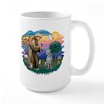 St Francis #2/ S Deer. #2 Large Mug