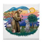 St Francis #2/ S Deer. #2 Tile Coaster