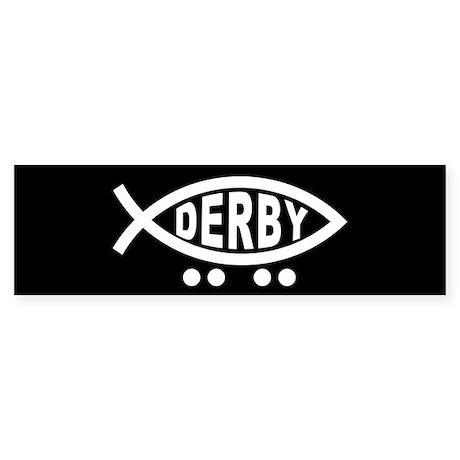 Derby Fish Sticker (Bumper)