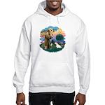 St Francis #2/ Sealyham T Hooded Sweatshirt
