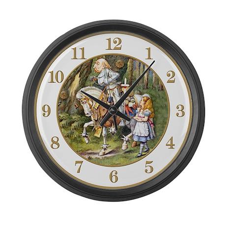 ALICE IN WONDERLAND CLOCKS Large Wall Clock
