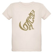 Jacob Wolf Lettering T-Shirt