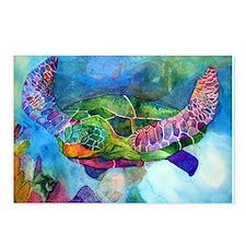 Sea Turtle Postcards (Package of 8)