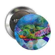 "Sea Turtle 2.25"" Button (100 pack)"