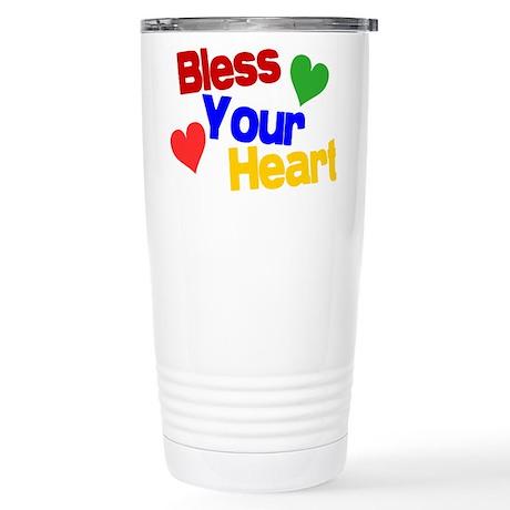 Bless Your Heart Stainless Steel Travel Mug