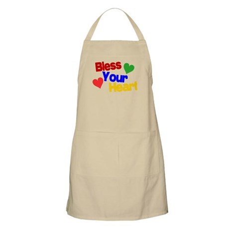 Bless Your Heart Apron