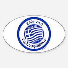 Greece Hellas Soccer/Football Decal