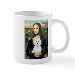 Mona Lisa / Maltese (B) Mug