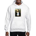 Mona Lisa / Maltese (B) Hooded Sweatshirt