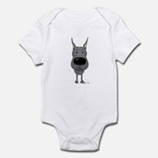 Big Nose Great Dane Infant Bodysuit